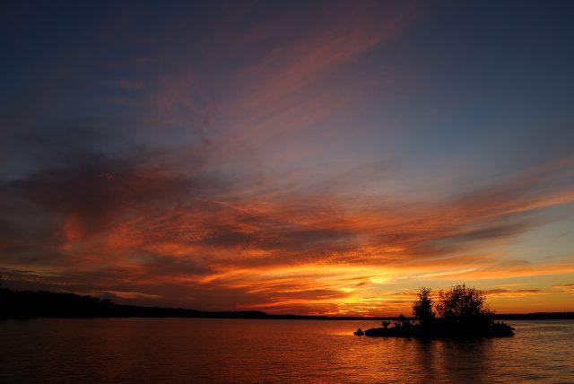 Sunset – Cedar Ridge, Stockton Lake, Missouri (#2)