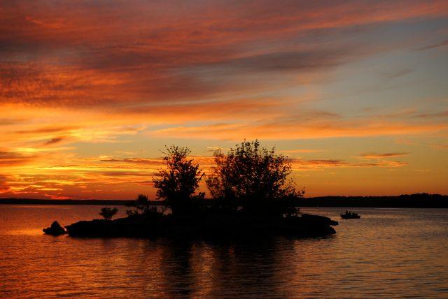 Sunset – Cedar Ridge, Stockton Lake, Missouri (#3)