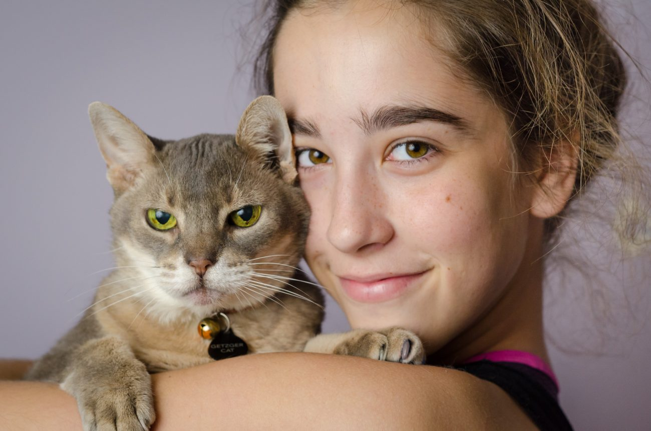 Portrait picture of Lanie and Getzger Cat