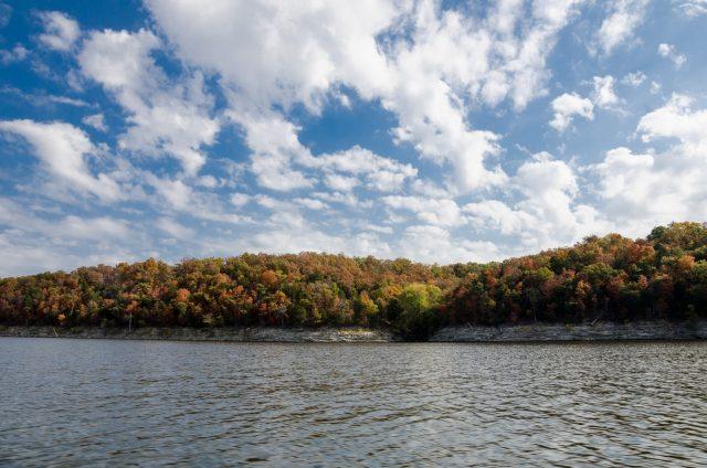 Fall at Pomme de Terre Lake, Missouri