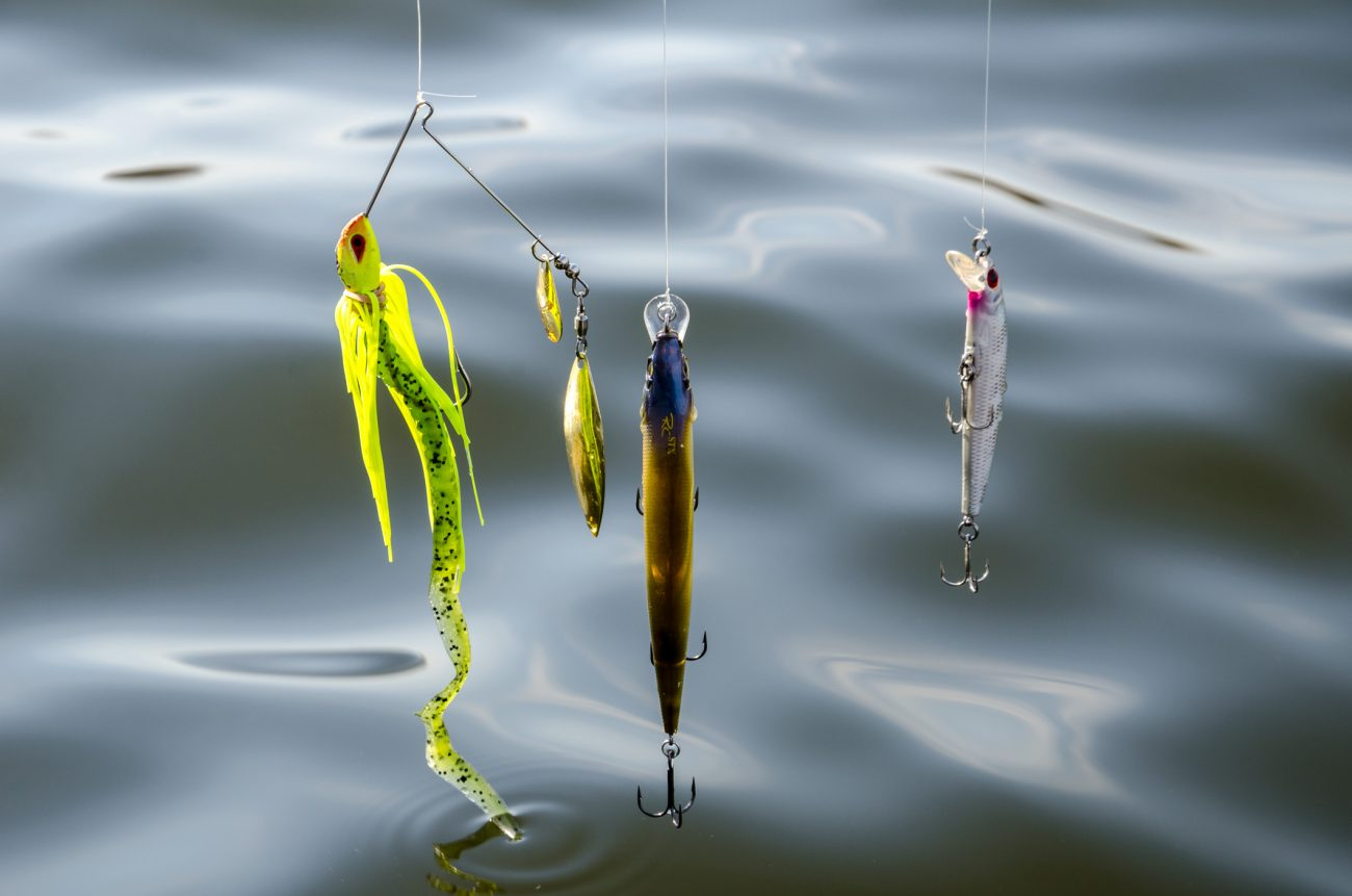 Three Fishing Lures