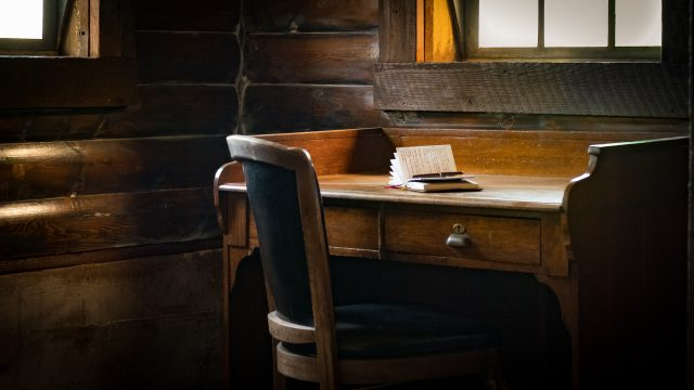 Writing Desk at Storybook Barn