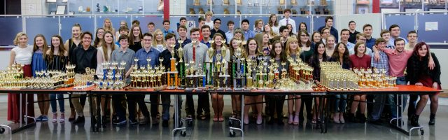Glendale High School Speech and Debate Trophies and Recognition