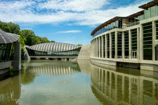 Crystal Bridges Museum Architecture (Color)