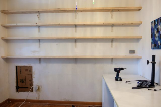 My Weekend – Forty Feet of Shelving
